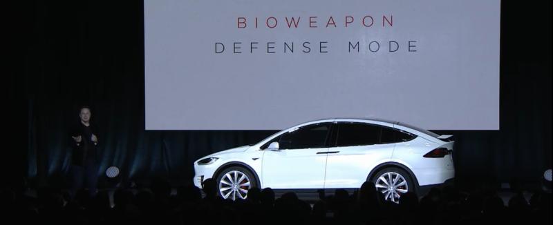 Bioweapon Defense Mode Tesla